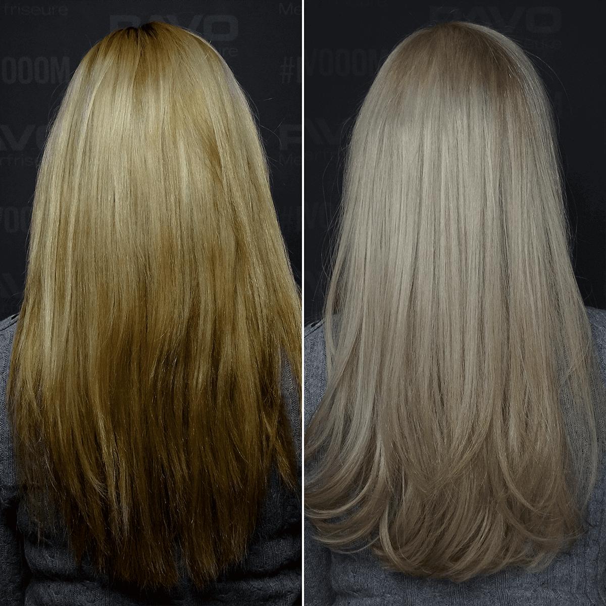 Guter Friseur In Essen Pavo Friseure Klares Blond Für Stephanie