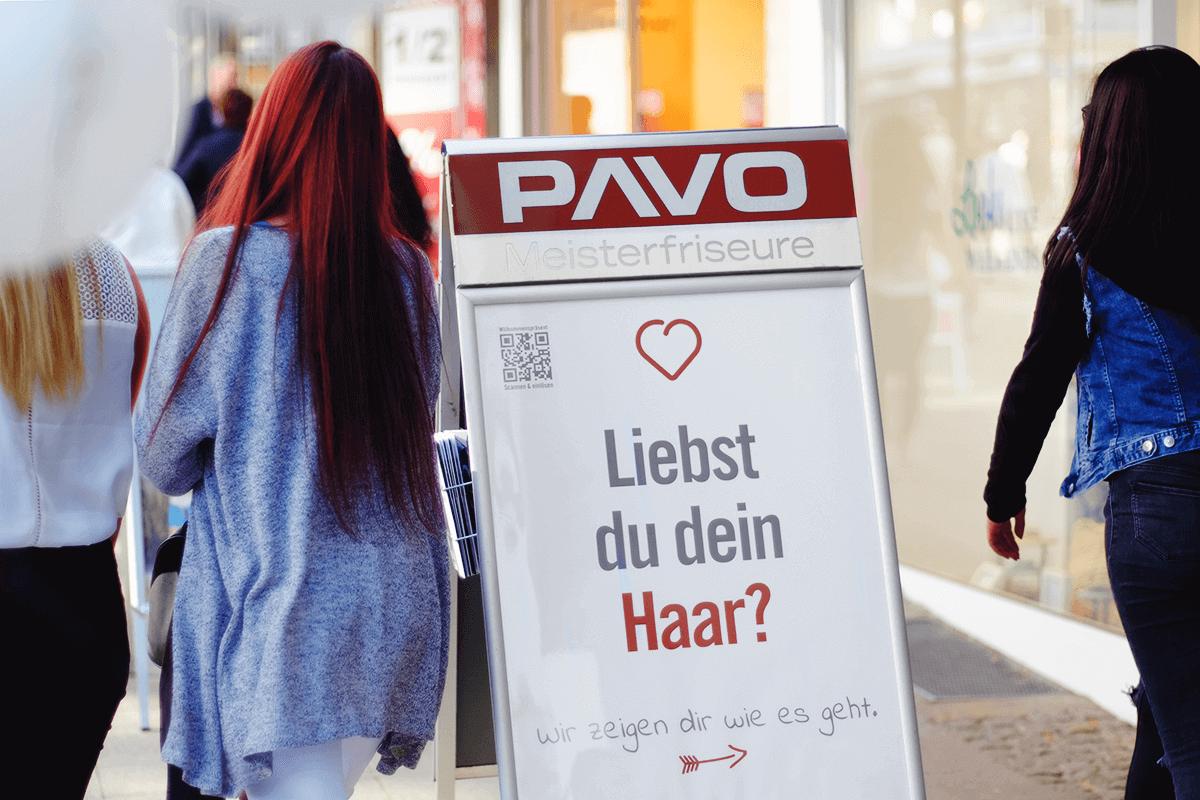 Stopper in der Essener Innenstadt vor PAVO