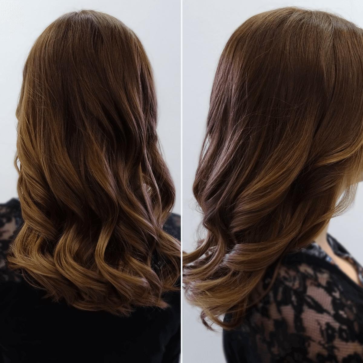 Guter Friseur In Essen Pavo Friseure Farbspiel Für Braunes Haar