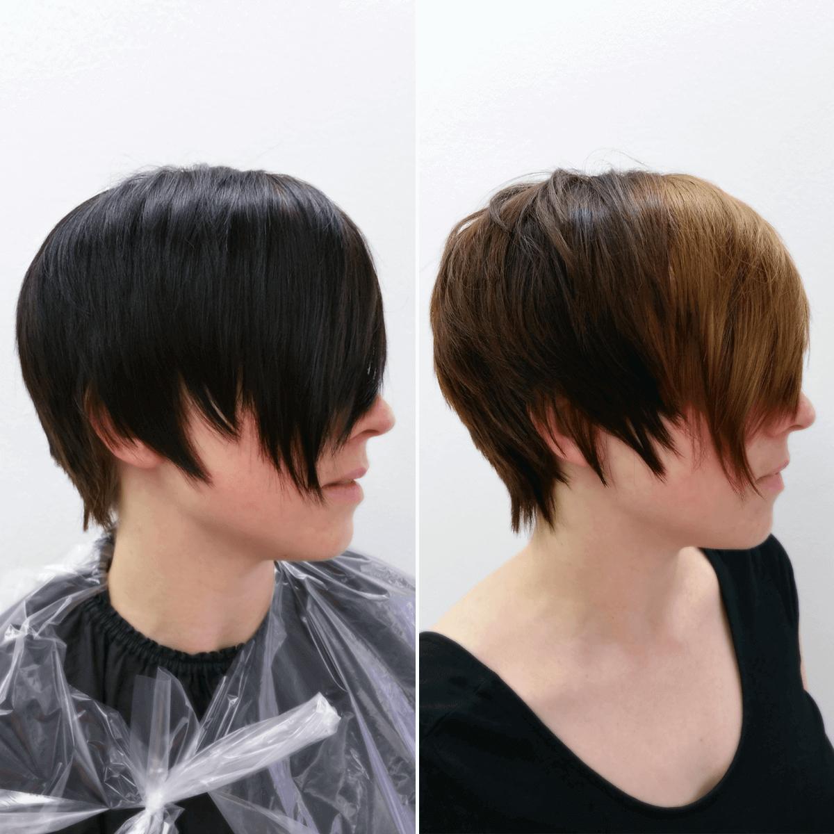 Guter Friseur In Essen Pavo Friseure Vorhernachher