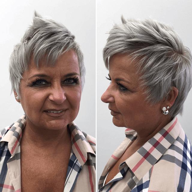 Beliebt Bevorzugt Guter Friseur in Essen: PAVO Friseure - Cooles Granny Hair mit &VC_86