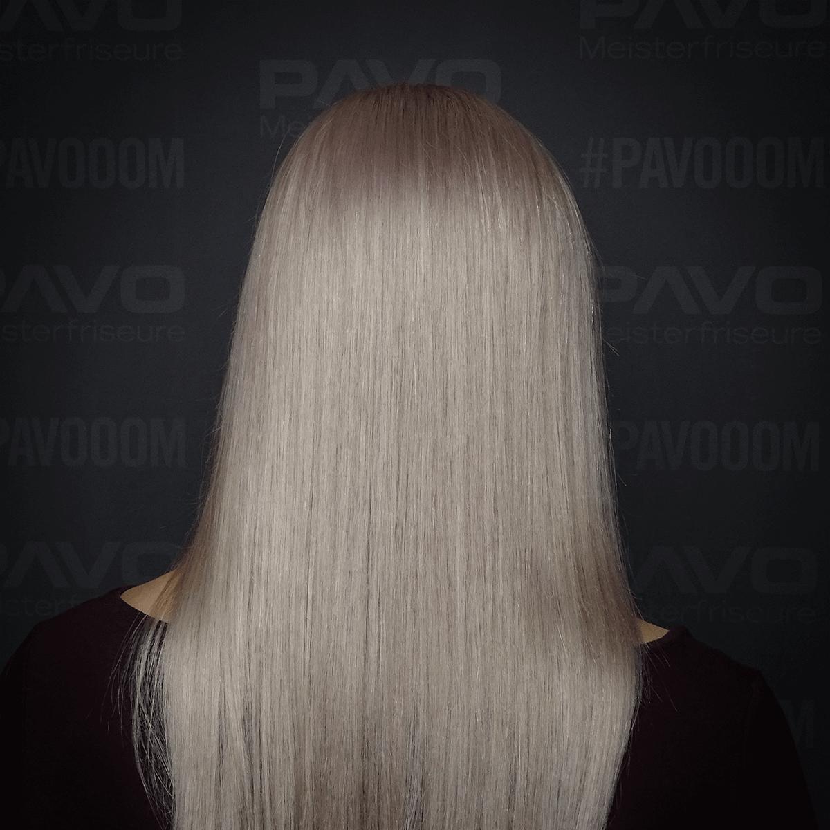 Guter Friseur In Essen Pavo Friseure Krasses Silberblond Mit