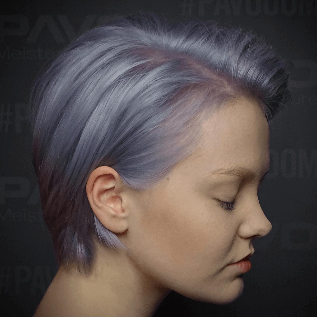 Guter Friseur In Essen Pavo Friseure Auffallende Eisblaue