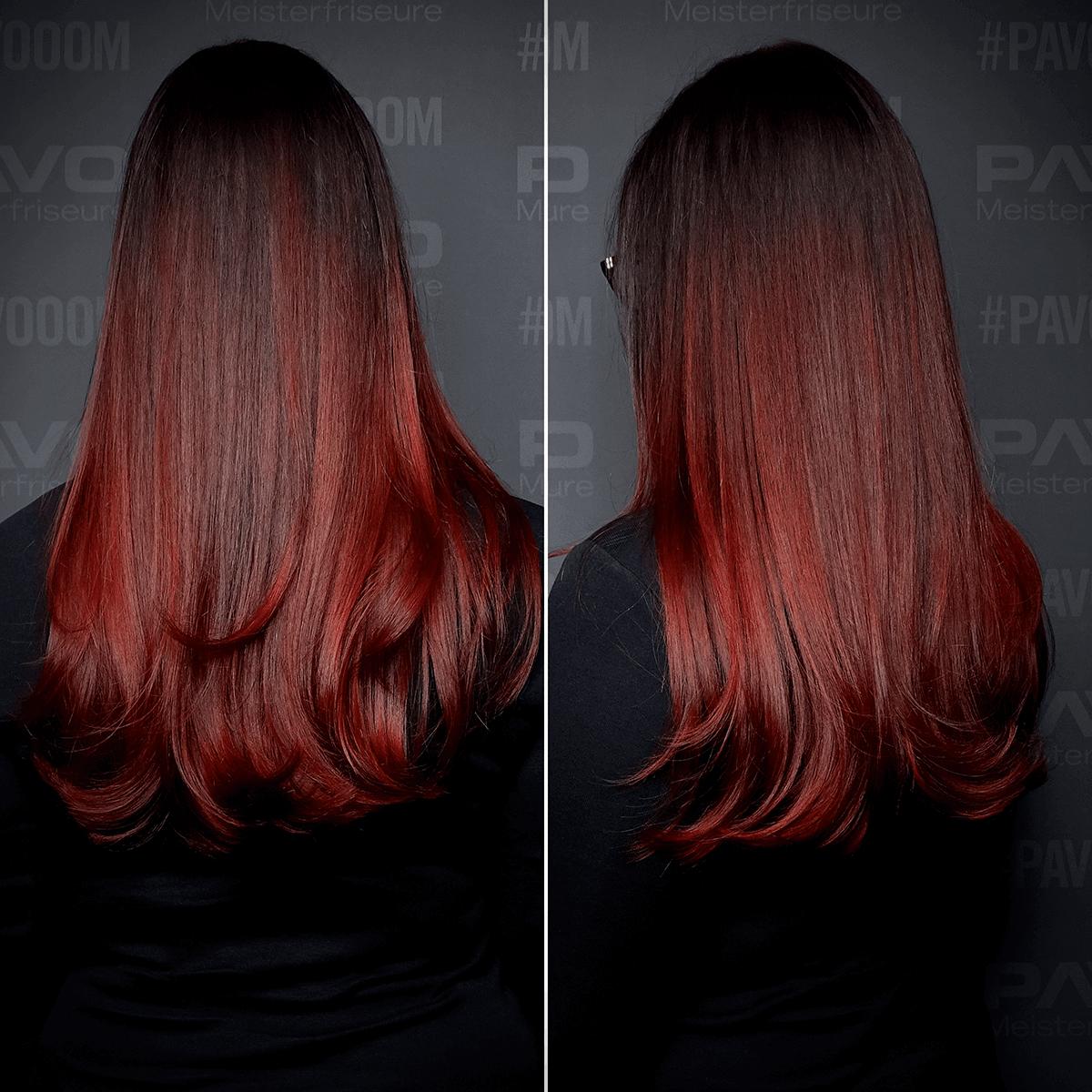 rote haare dunkelblond färben