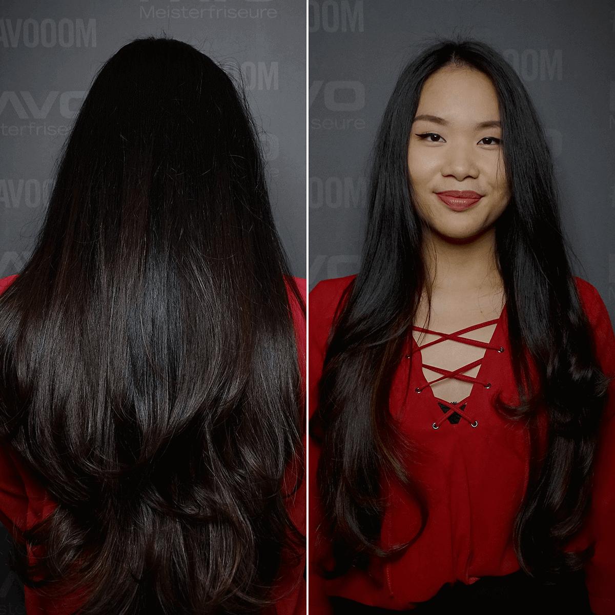 Guter Friseur in Essen: PAVO Friseure - V-Form Schnitt für sehr